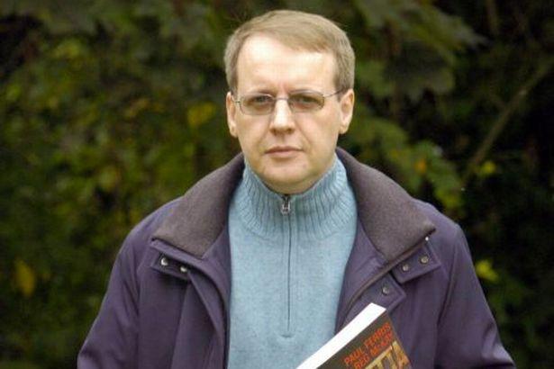 Paul John Ferris with psoriasis