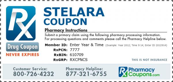 stelara coupon