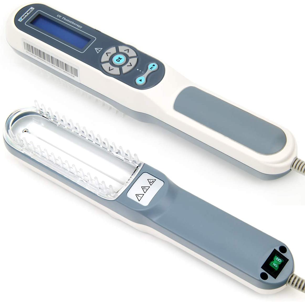 Hand-Held UV Phototherapy for Skin Disorders Treatment with Goggle Gifts